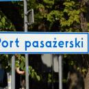 Road signs in Kołobrzeg
